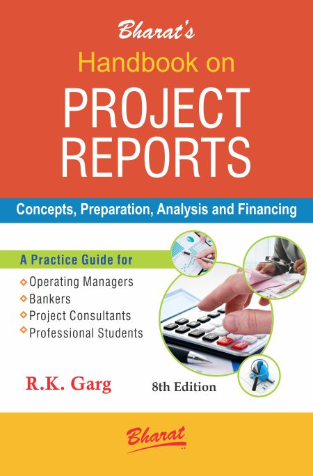Buy Handbook On Project Reports By RK Garg Bharat Law House Pvt
