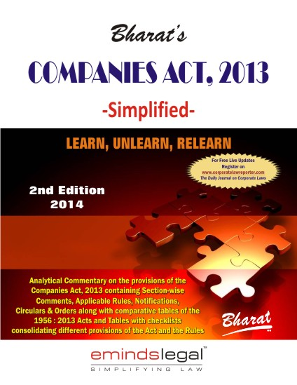 COMPANIES ACT, 2013 -Simplified-
