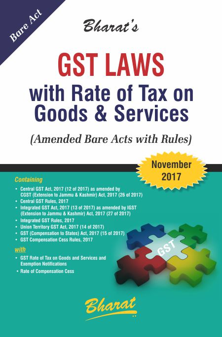 GST Laws with Rates of Tax on Goods & Services