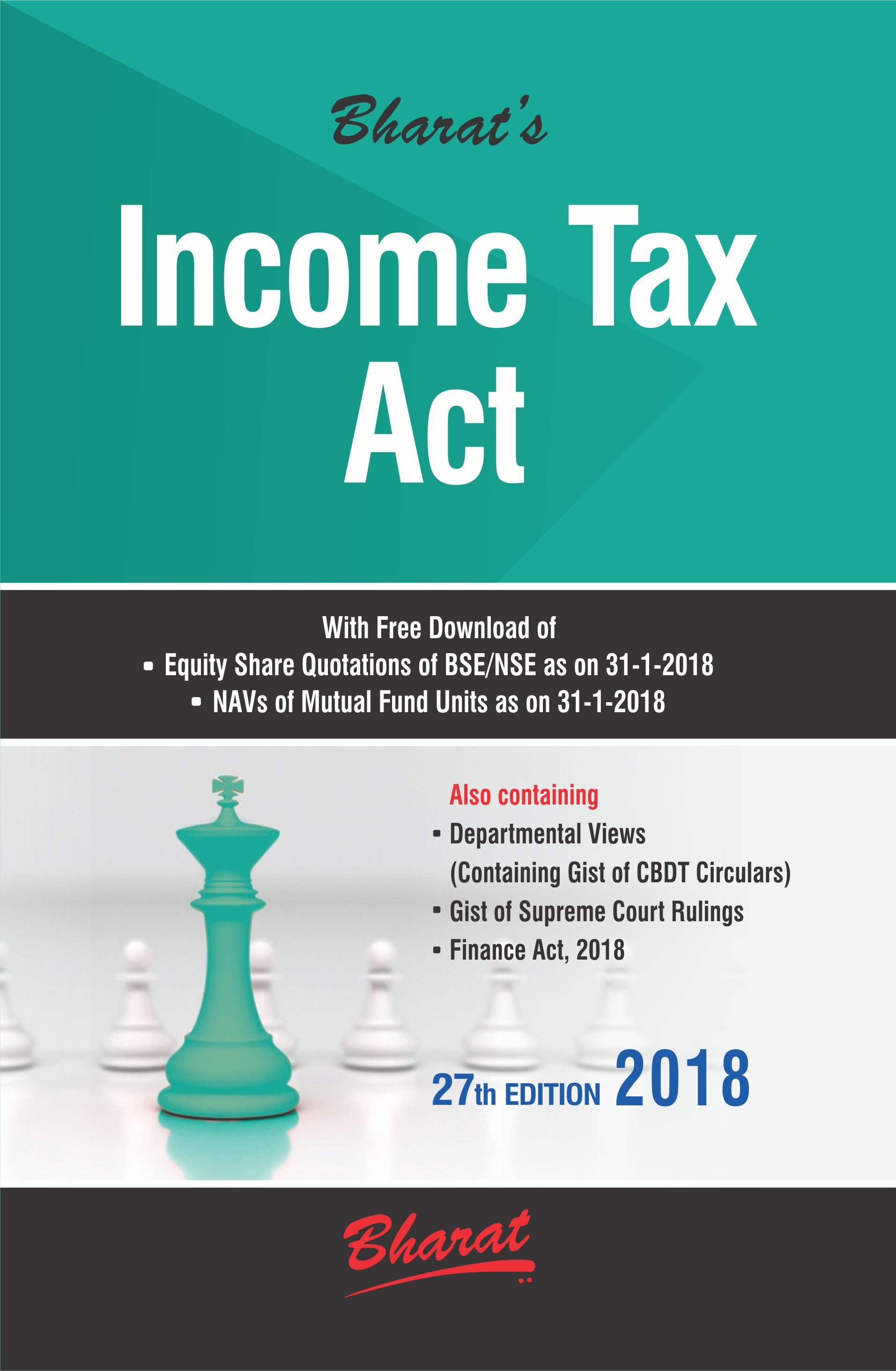INCOME TAX ACT with Departmental Views