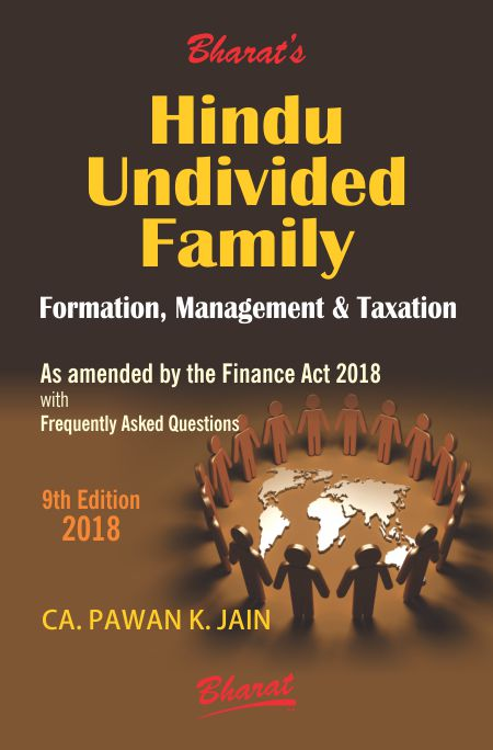 HINDU UNDIVIDED FAMILY (Formation, Management & Taxation)