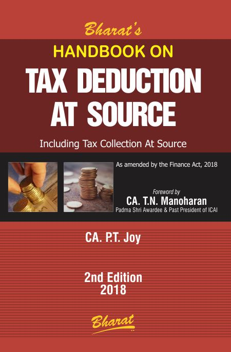 Handbook on TAX DEDUCTION AT SOURCE
