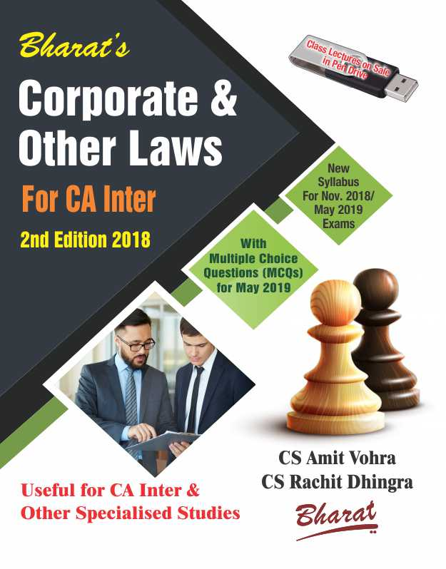 CORPORATE & OTHER LAWS (For Nov., 2018 & May 2019 exams)