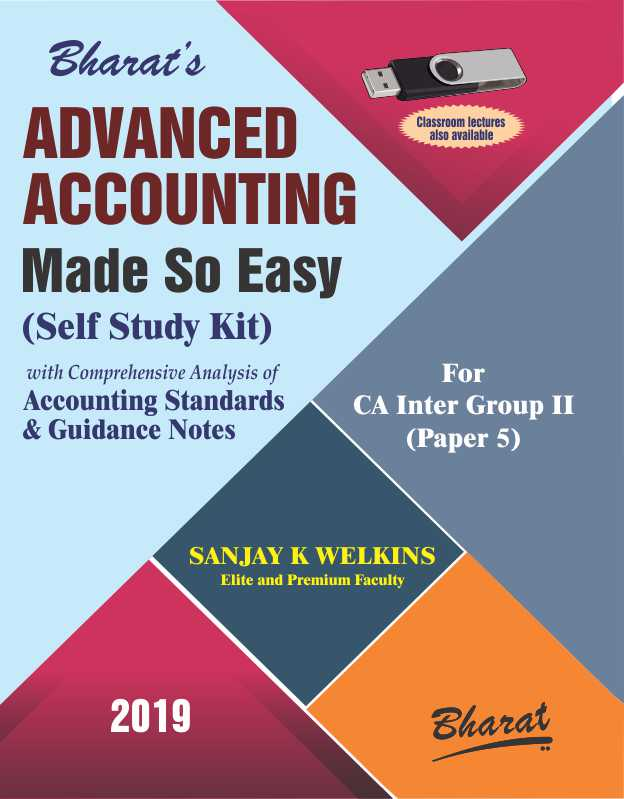 ADVANCED ACCOUNTING Made So Easy (Self Study Kit) [For CA Inter Group II (Paper 5)]