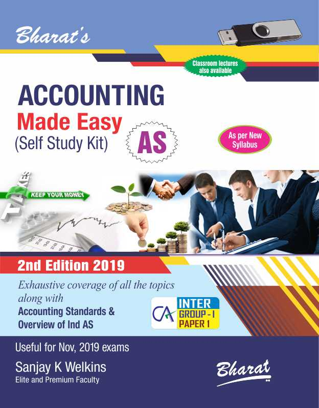 ACCOUNTING Made Easy (Self Study Kit) [For CA Intermediate-Group I (Paper 1)]