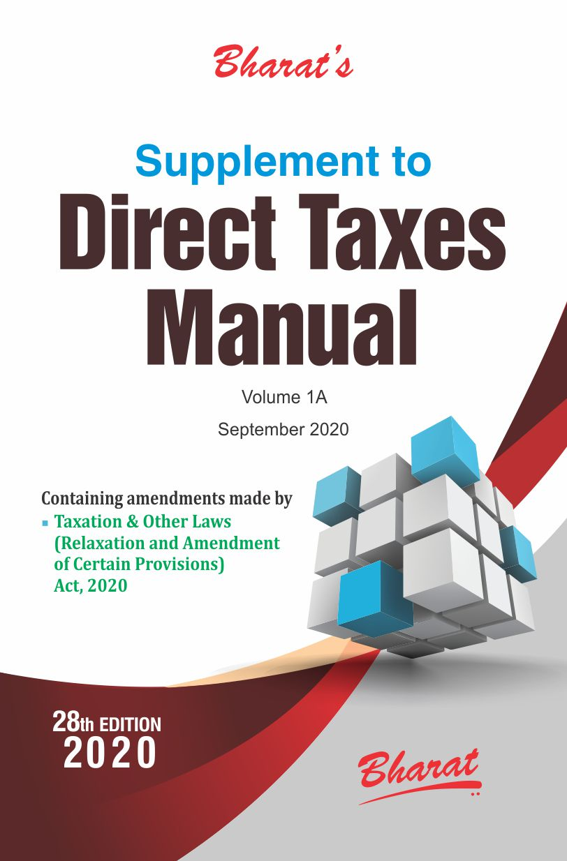 Supplement to Direct Taxes Manual