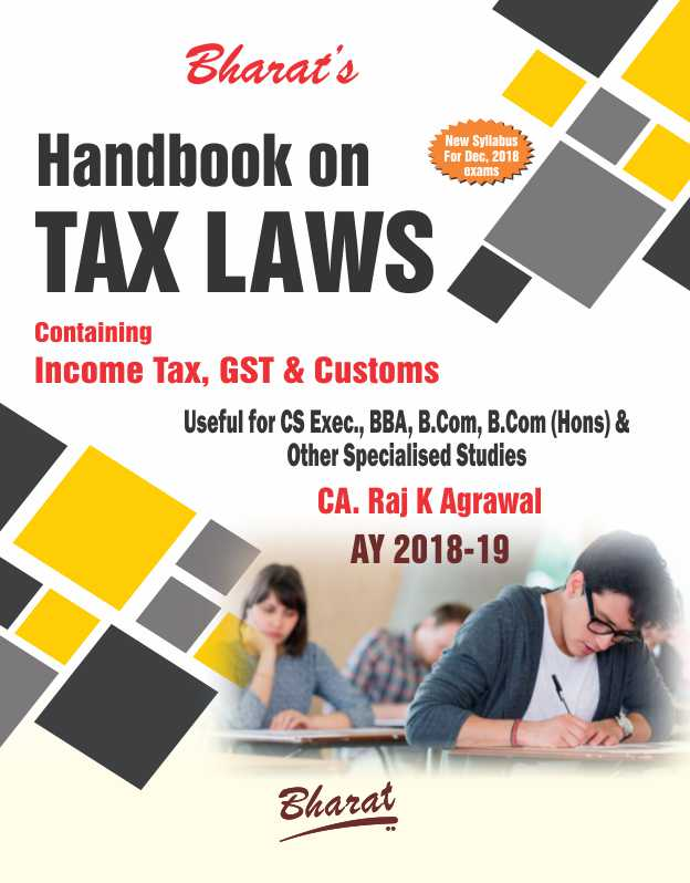Handbook on TAX LAWS