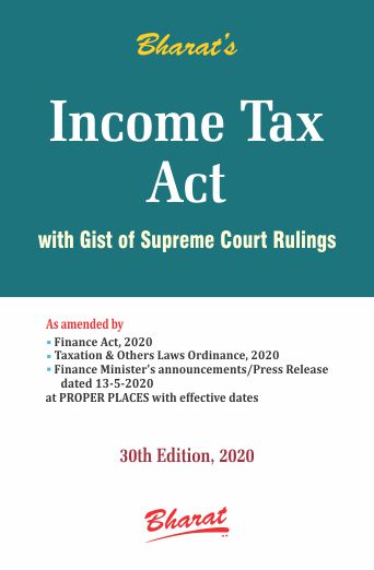 INCOME TAX ACT (Pocket) [Concessional Price Rs. 675 upto 31st July only]