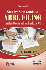 Buy Step by Step Guide to X B R L FILING under Revised Schedule VI