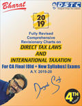 Buy Comprehensive Revisionary Charts on DIRECT TAX LAWS & INTERNATIONAL TAXATION [AY 2019-2020]