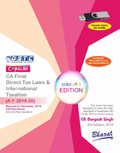 Buy Capsule Studies on DIRECT TAX LAWS & International Taxation (A.Y. 2019-20) [Released]