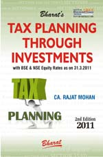 Buy TAX PLANNING THROUGH INVESTMENTS