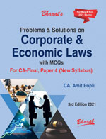 Buy Problems & Solutions on Corporate & Economic Laws with MCQs