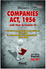 Buy COMPANIES ACT, 1956 with New Schedule VI