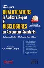 Buy QUALIFICATIONS IN AUDITORs REPORT & DISCLOSURES ON ACCOUNTING STANDARDS (with FREE CD Containing Annual Reports of about 275 companies)