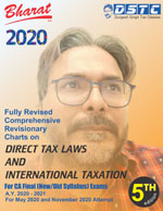Comprehensive Revisionary Charts on DIRECT TAX LAWS & INTERNATIONAL TAXATION [AY 2020-21]