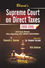 Buy Supreme Court on Direct Taxes (1950-2016)