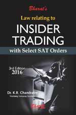 Buy Law relating to INSIDER TRADING