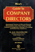 Guide to COMPANY DIRECTORS (Appointment, Vacation of Office and Removal, Remuneration, Loans, Office or Place of  Profit, Contracts & Arrangements, Meetings & Proceedings and Related Party Transactions)