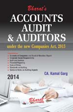 Buy ACCOUNTS, AUDIT & AUDITORS under new Companies Act, 2013