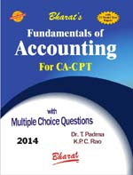 Buy Fundamentals of ACCOUNTING (for CA CPT)