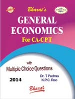 Buy GENERAL ECONOMICS (for CA CPT)