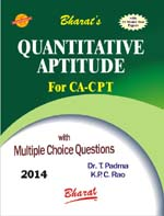Buy QUANTITATIVE APTITUDE (for CA CPT)