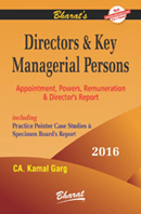 Buy DIRECTORS & KEY MANAGERIAL PERSONS Appointment, Powers, Remuneration And Director's Report