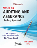 Notes on AUDITING & ASSURANCE -- An Easy Approach