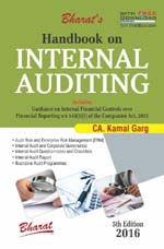 Buy Handbook on INTERNAL AUDITING (with FREE Download of Practical Information)
