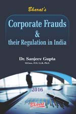 Buy CORPORATE FRAUDS and their Regulation in India