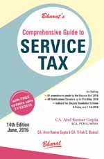 Buy Comprehensive Guide to SERVICE TAX