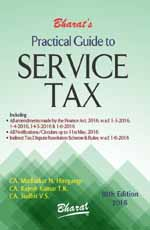 Buy Practical Guide to SERVICE TAX