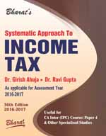 Systematic Approach to INCOME TAX [A.Y. 2016-17]