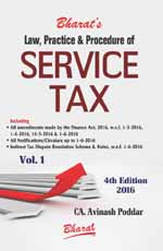 Buy Law, Practice & Procedure of SERVICE TAX (in 2 vols.)