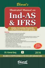 Buy Illustrated Manual on Ind AS & IFRS (in 2 volumes)