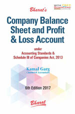 Buy COMPANY BALANCE SHEET AND PROFIT & LOSS ACCOUNT under Accounting Standards & Schedule III