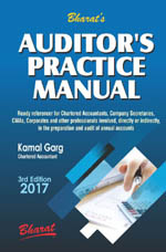 Buy AUDITOR's PRACTICE MANUAL