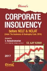 Buy CORPORATE INSOLVENCY before NCLT & NCLAT (Practice & Procedure)