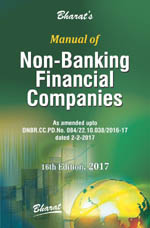 Buy Manual of Non-Banking Financial Companies