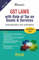 Buy GST Laws with Rates of Tax on Goods & Services