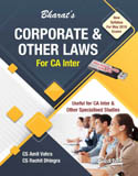 Buy CORPORATE & OTHER LAWS (For CA Inter-May 2018)