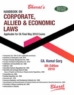 Buy Handbook on CORPORATE, ALLIED & ECONOMIC LAWS