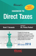 Buy Handbook to DIRECT TAXES
