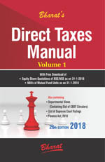 Buy DIRECT TAXES MANUAL in 3 volumes