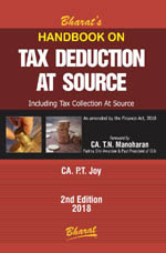 Buy Handbook on TAX DEDUCTION AT SOURCE