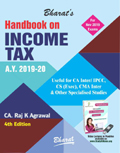 Handbook on INCOME TAX (A.Y. 2019-2020)
