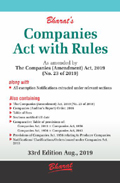 Buy COMPANIES ACT, 2013 with RULES (Pkt edn.)