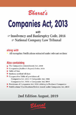 Buy COMPANIES ACT, 2013 with Insolvency and Bankruptcy Code, 2016 & National Company Law Tribunal