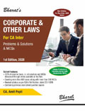 CORPORATE & OTHER LAWS for CA-Inter